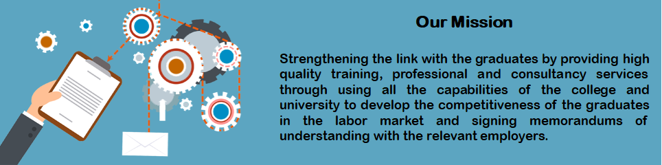 Our Mission - Strengthening the link with the graduates by...